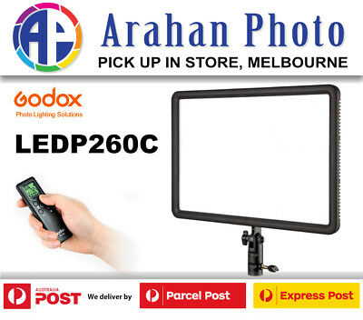 Godox Professional LED Video Light LED P260-C Color Changeable Lighting