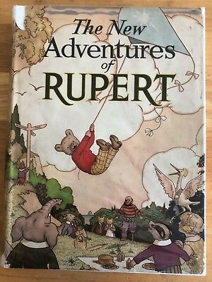 RUPERT BEAR ANNUAL 1936 ORIGINAL NOT INSCRIBED VG/FINE in ORIGINAL DUST JACKET