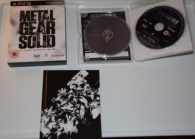 [PS3} Metal Gear Solid Legacy Collection + ArtBook