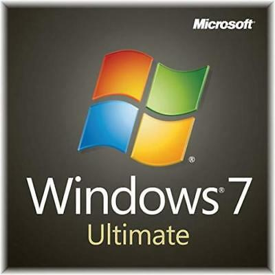 🔥 WIN 7 Windows 7 Ultimate 32 64 Bit Original Genuine License Key Product KEY