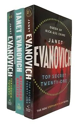 Stephanie Plum 3 Books Janet Evanovich 19 20 21 Crime Mystery Funny Fiction New