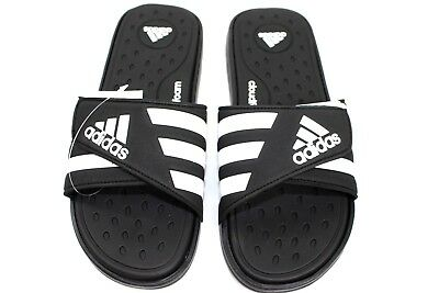 9b5ab3e1fbf8c1 Adidas Adissage Mens CF Black Slide Shower Sandals Athletic size 9-12