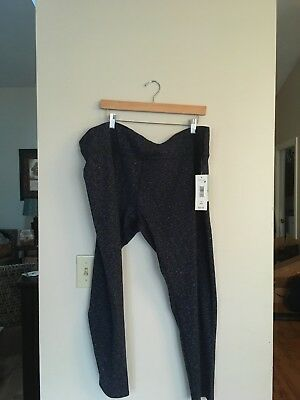 e749fc93d8727 SZ 3X MTA SPORT Womens Fast Dri Athletic Leggings Pant NWT - $9.99 ...