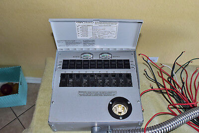 RELIANCE TRANSFER SWITCH (30A) INDOOR PRO/TRAN 2 SERIES Model A310A