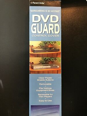 NEW Parent Units DVD Guard Control Cover - Clear