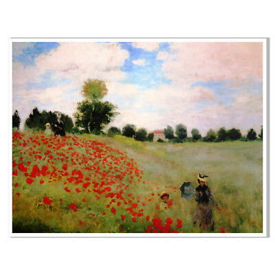 Nature Canvas Vintage Oil Painting Unframed Poster Picture Wall Home Art Decor