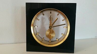 Jaeger LeCoultre Swiss desk clock, mystery clock. As is, not marked