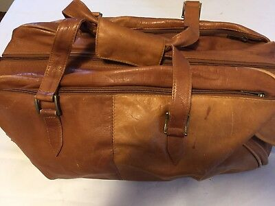 carry on leather travel bags