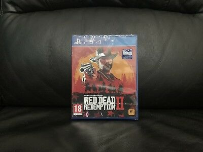 Red Dead Redemption 2 PS4 Playstation 4 Game Brand New (SEALED)