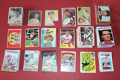 4000 Baseball & Sports Cards Collection Lot + Unopened Pack + 4 Graded Card