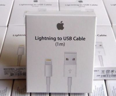 Genuine Apple Lightning USB Charger Lead Cable For iPhone 5 5S 6 6S 7 8 X XS