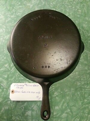 Griswold Good Health #659  Size 9 Cast Iron Skillet