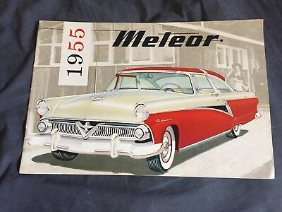 Wall Art 1955 Ford Canadian Rideau Brochure Cover   8x10
