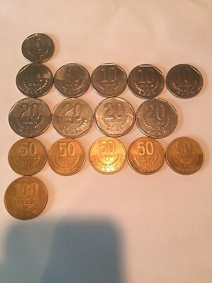 Costa Rica Coins Variety