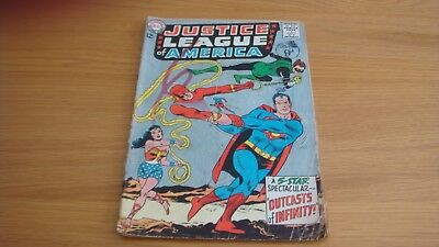 DC Comic Justice League of America 1964 No. 25