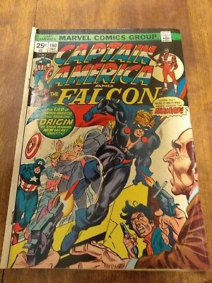 CAPTAIN AMERICA 180 BRONZE Age FIRST 1st NOMAD