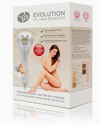 Rio Evolution IPL Hair Removal for Face, Body and Bikini