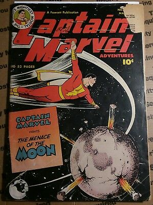 Captain Marvel Adventures #106 Fawcett  Golden Age Captain Marvel!