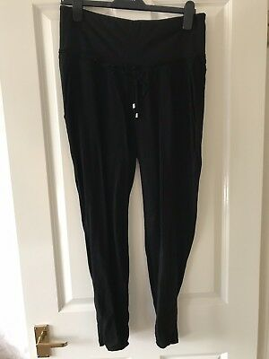 H&M Mama Wide Black Trousers Eur 40
