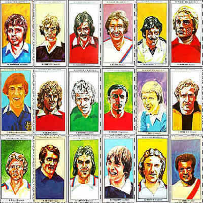 Sun Soccercards 1978 1979 football (Soccer) player card - Various 901 - 1000