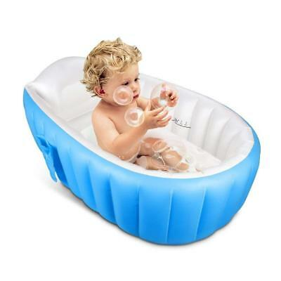 Inflatable Baby Bathtub,Topist Portable Mini Air Swimming Pool Kid Infant...