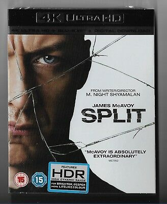 SPLIT (4K Ultra HD + Blu-Ray + Digital Download) (new)