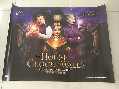 The house with a clock in the walls 30x40 double sided mint condition