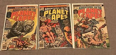 Adventures On The Planet Of The Apes Lot