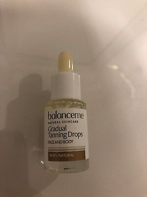 Balance Me Gradual Tanning Drops Face and Body 4ml - Brand New