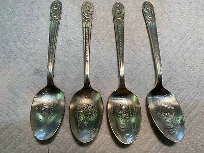 Vintage Presidential Commemorative Silverplate Spoon Wm Rogers Mfg Co. (c)