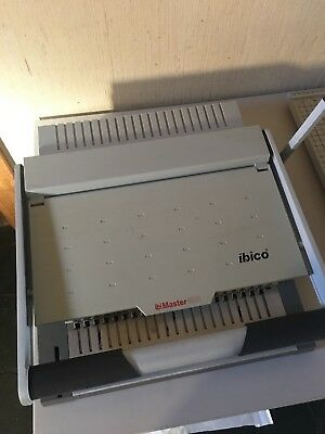 Ibico ibiMaster 400 Binding Machine with Boxes of Plastic Combs