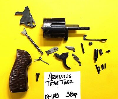 ARMINUS TITAN TIGER 38 Special Gun Parts Lot All Pictured 4 One Price  18-1145