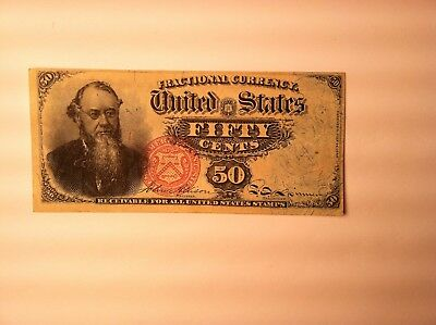 FR 1376 Spinner  STANTON Fractional Currency Note AU