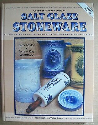 Vintage Stoneware Price Guide Collector's Book Crocks Bowls Pitcher's