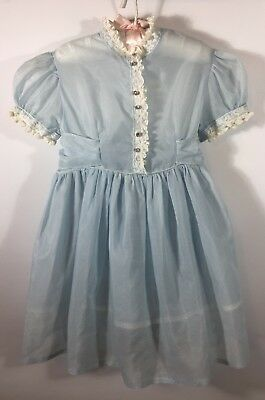 Vtg Sears Roebuck And Co Honey Suckle Toddler Dress Size 4