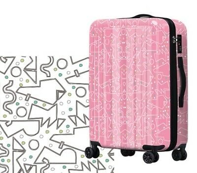 D329 Lock Universal Wheel ABS+PC Travel Suitcase Cabin Luggage 20 Inches W