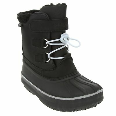 London Fog Boys Snow Boots, Black (Pick size)