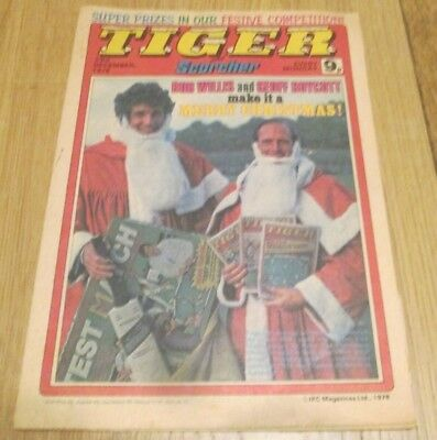 Tiger Comic - dd.23rd December 1978