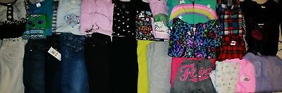 Girls Size 6 & 6X Winter Clothing Lot Of 28 Pieces