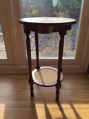 Antique Side Table Plant Stand