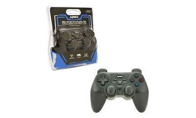 Controller KMD Shockwave PS2 Wireless Shock-Wave Controller KMD-P2-1064 New