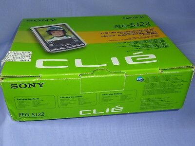Sony Clié Organiser PEG-SJ22 PDA Boxed, Superb + Charger Etc, Christmas Present?