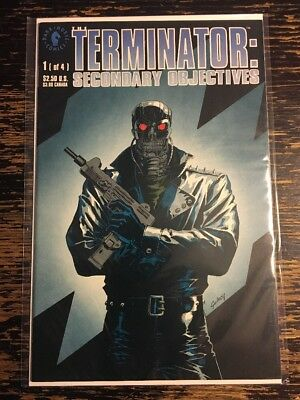 The Terminator Secondary Objectives #1 (Dark Horse) Free combine shipping