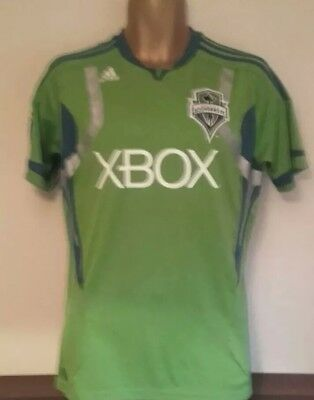 Seattle Sounders 2011/13 Adidas Football Shirt Home MLS Patch
