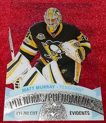 17/18 UD Tim Hortons ☆CLEAR CUT PHENOMS☆ Matt Murray  CCP-12  <Free S&H>