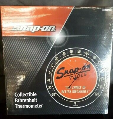 Snap-On Collectible Fahrenheit Thermometer * New And Sealed