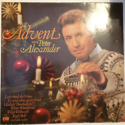 "*****PETER ALEXANDER""ADVENT MIT PETER ALEXANDER""-12""Inch Ariola Records LP*****"