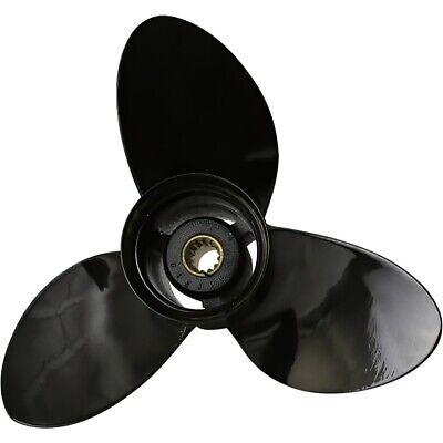 "JOHNSON-EVINRUDE 40HP-75HP PROPELLER D11-3//4xP17/""  0386841 0176422 0763462"