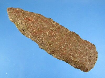 Whalens Artifacts Lg Attractive Maine Lanceolate Authentic Indian Arrowhead Aaca