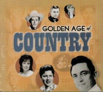 Golden Age of Country by Various Artists (CD, Jul-2016, 10 Discs, Time Life)